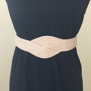 Accessories - Natural Beige Weaved Belt size Small